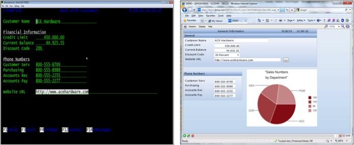 Simple IBM i Green Screen Modernisation Example - JouleTech